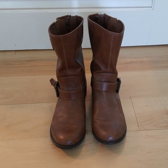 Madden Girl Shoes - Brown boots